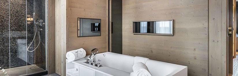 Écrans miroir, jolie solution d'intégration, utile et agréable